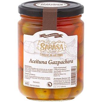 Sarasa Aceitunas gazpachas frasco 240 g neto escurrido frasco 240 g neto escurrido