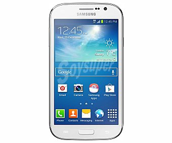 "DESPUBLICADAS POR ADMIN Smartphone libre grand NEO i9060, procesador: Quad Core 1.2Ghz, ram: 1GB, almacenamiento: 8GB ampliable mediante microsd, pantalla: 5.0"" 480 x 800px, Cámara: 5 Mp, Talla/color"