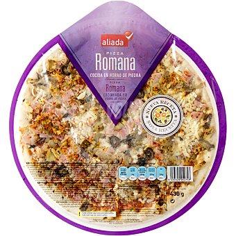 Aliada Pizza fresca romana Envase 430 g