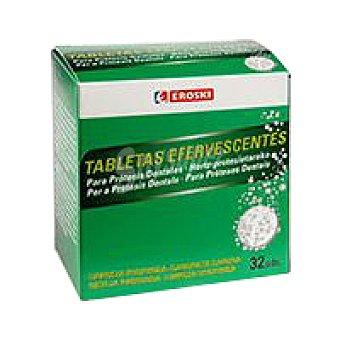 Eroski Tableta eferve prótesis Caja 32 unid