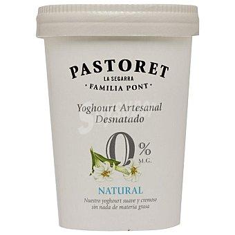 El Pastoret Yogur desnatado natural Tarro 500 g