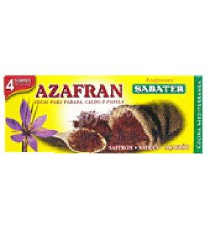 Sabater Azafrán en hebras en sobres Pack de 4x90 mg