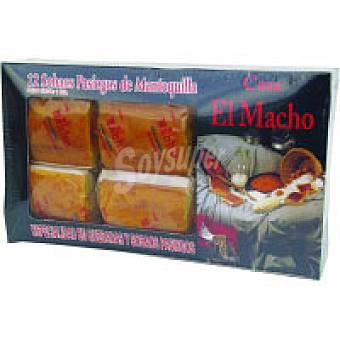 El Macho Sobao con mantequilla 12 unid