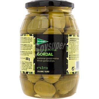 El Corte Inglés aceitunas verdes gordal  frasco 500 g