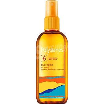 Klorane Polysianes aceite seco protección solar SPF6+ al Monoï para pieles ya bronceadas  spray 120 ml