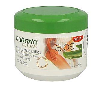 Babaria Crema anticelulítica con aloe vera Tarro de 400 ml