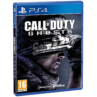 PS4 Videojuego Call of Duty Ghosts  1 Unidad