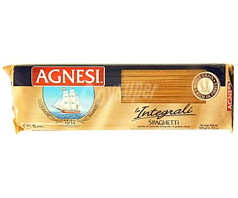 Agnesi Espaguetis, pasta compuesta integral de calidad superior 500 Gramos