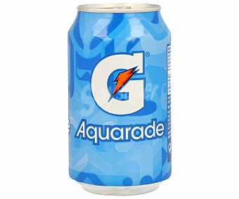 Aquarade Bebida refrescante sabor limón (especial deportistas) Lata de 33 centilitros