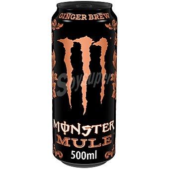 Monster Energy Mule bebida energética de jengibre con mezcla energética con taurina y ginseng Lata 50 cl