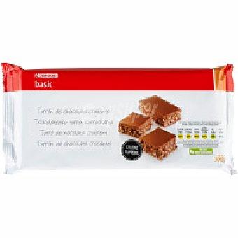Eroski Turron de chocolate crujiente Caja 300 g