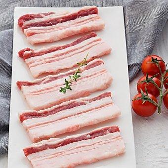 ElPozo Panceta fresca de cerdo ibérico 100 gramos