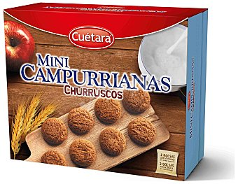 Cuétara Galletas mini Campurriana Paquete 600 g