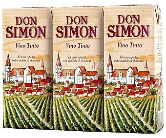 Don Simón Vino Tinto Pack 3 x 187 ml