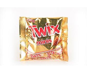Twix Barrita choco mini twix Bolsa 170 g