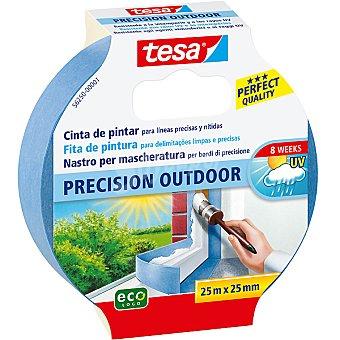 TESA 56250 Cinta exterior para pintar líneas precisas y nítidas envase 25 m x 30 mm