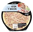 Pizza fresca atun bacon u 415 g Hacendado