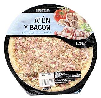 Hacendado Pizza fresca atun bacon u 415 g