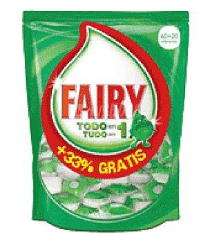 Fairy Lavavajillas máquina ultracaps pastilla 60 ud