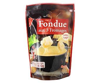 Auchan Queso Fondue Francesa 400 Gramos