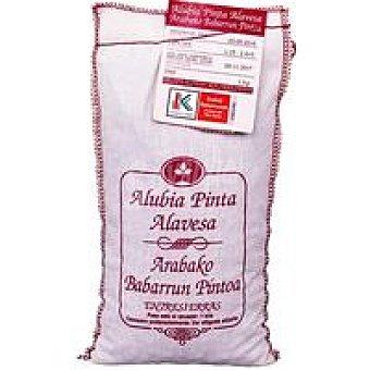 GARLAN Alubia pinta alavesa Eusko Label Saco 1 kg