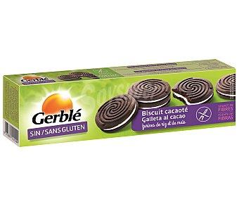 Gerblé Galletas de cacao rellenas sin gluten Envase 125 g