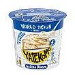Macaroni & cheese world tour USA Vaso 97 g Yatekomo Gallina Blanca