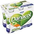 Yogur líquido natural reduce el colesterol Pack 6 botellines x 100 ml  Danacol Danone