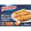 Filete de merluza al huevo Caja 320 g (4 unidades) Pescanova