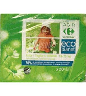 Carrefour Eco Planet Pañal T5 de 18-25 kg 20 ud
