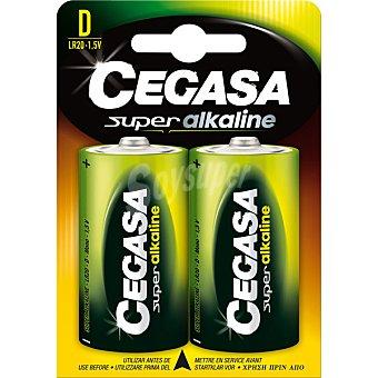 Cegasa LR20 D pilas Super alcalinas blister 2 unidades 2 unidades