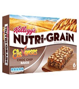 Elevenses - Kellogg's Bizcochito de trigo y avena con trocitos de chocolate Pack de 6x45 g
