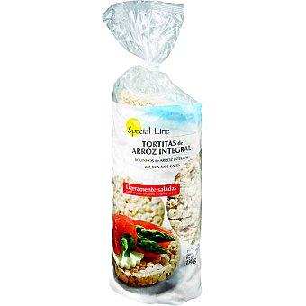SPECIAL LINE tortitas de arroz integral sin sal  bolsa 130 g