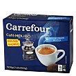Café molido mezla descafeinado Pack 2 x 250 g Carrefour