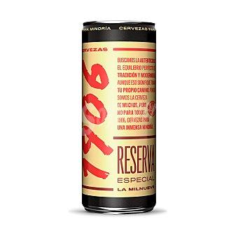 1906 Cerveza rubia reserva especial Lata de 33 cl