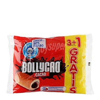 BOLLYCAO Bollito relleno de cacao 3 ud