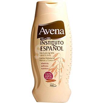 Instituto Español Loción hidratante de avena Frasco 500 ml