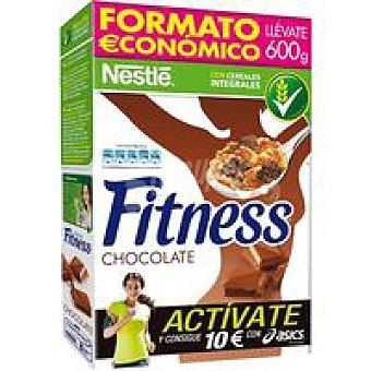 Fitness Nestlé Cereales de chocolate con leche Caja 600 g