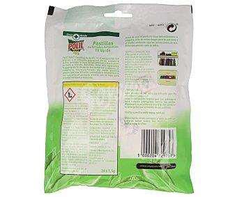 Polil Raid Antipolillas pastillas perfumadas te verde 24 Unidades
