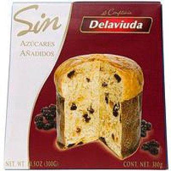 Delaviuda Panettone sin azucar 300 gramos