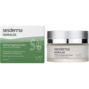 Sesderma Hidraloe crema facial hidratante para peil seca Tarro 50 ml