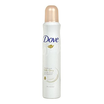 Dove Desodorante anti-transpirante con extractos de seda 200 ml