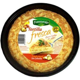 Fuentetaja Tortilla fresca sin cebolla 1 unid