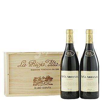 """Viña Ardanza Estuche de vino D.O. Ca. """"rioja"""" tinto reserva Pack 2x75 cl"""