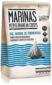 Vidal Vidal patatas fritas marinas Bolsa 150 gr
