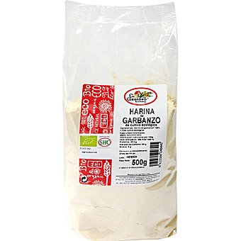 EL GRANERO harina de garbanzos ecológica envase 500 g