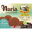 Galleta Nuria con chocolate sin gluten y sin aceite de palma Estuche 435 g Birba