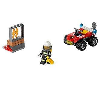 LEGO Juego de construcciones con 64 piezas Todoterreno de bomberos, ref 6105, incluye 1 figura City 1 unidad