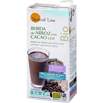 SPECIAL LINE Bebida de arroz con cacao sin lactosa ecológica envase 1 L