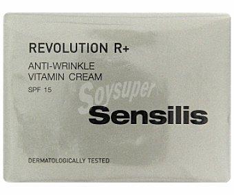 DERMOFARM Crema antiarrugas vitamínica Revolution R+ 50 Mililitros